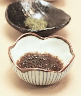 Edible Mozuku seaweed