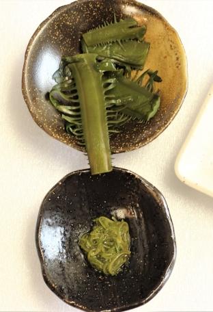 Mekabu seaweed